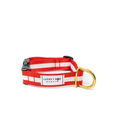 Lucky + Dog Everyday Collar The Crimson MD