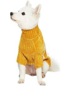 Blueberry Cozy Sweater Mustard 22