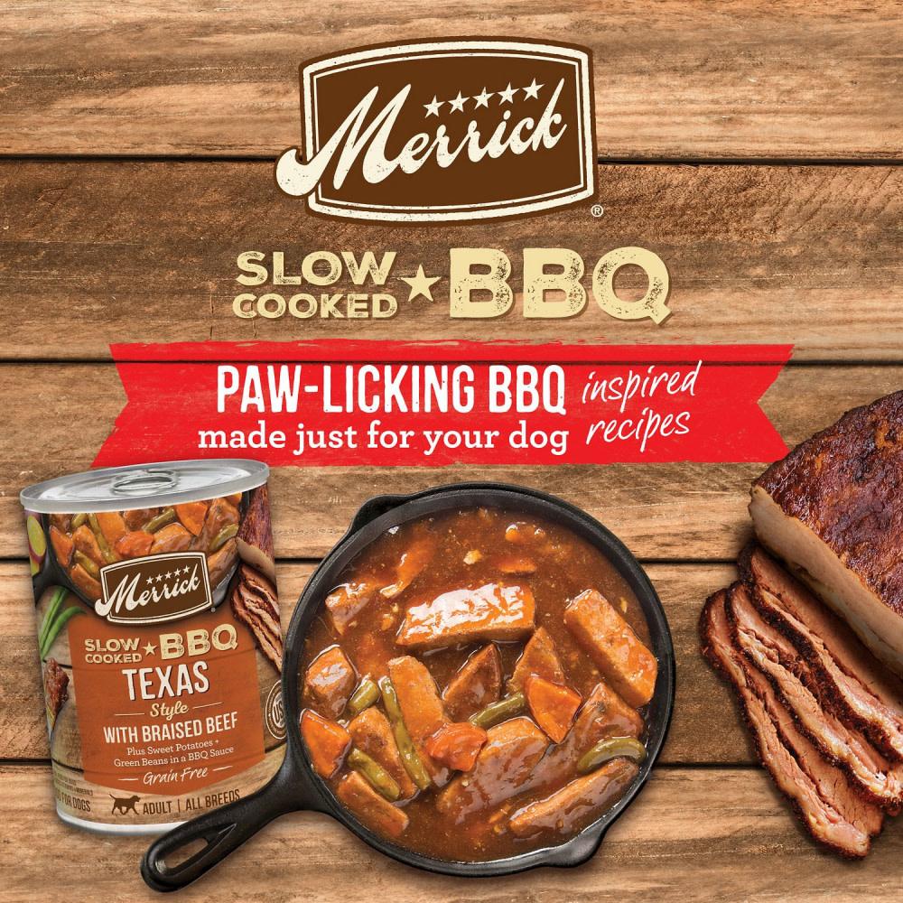 Merrick Merrick Texas Style BBQ 12.7 oz