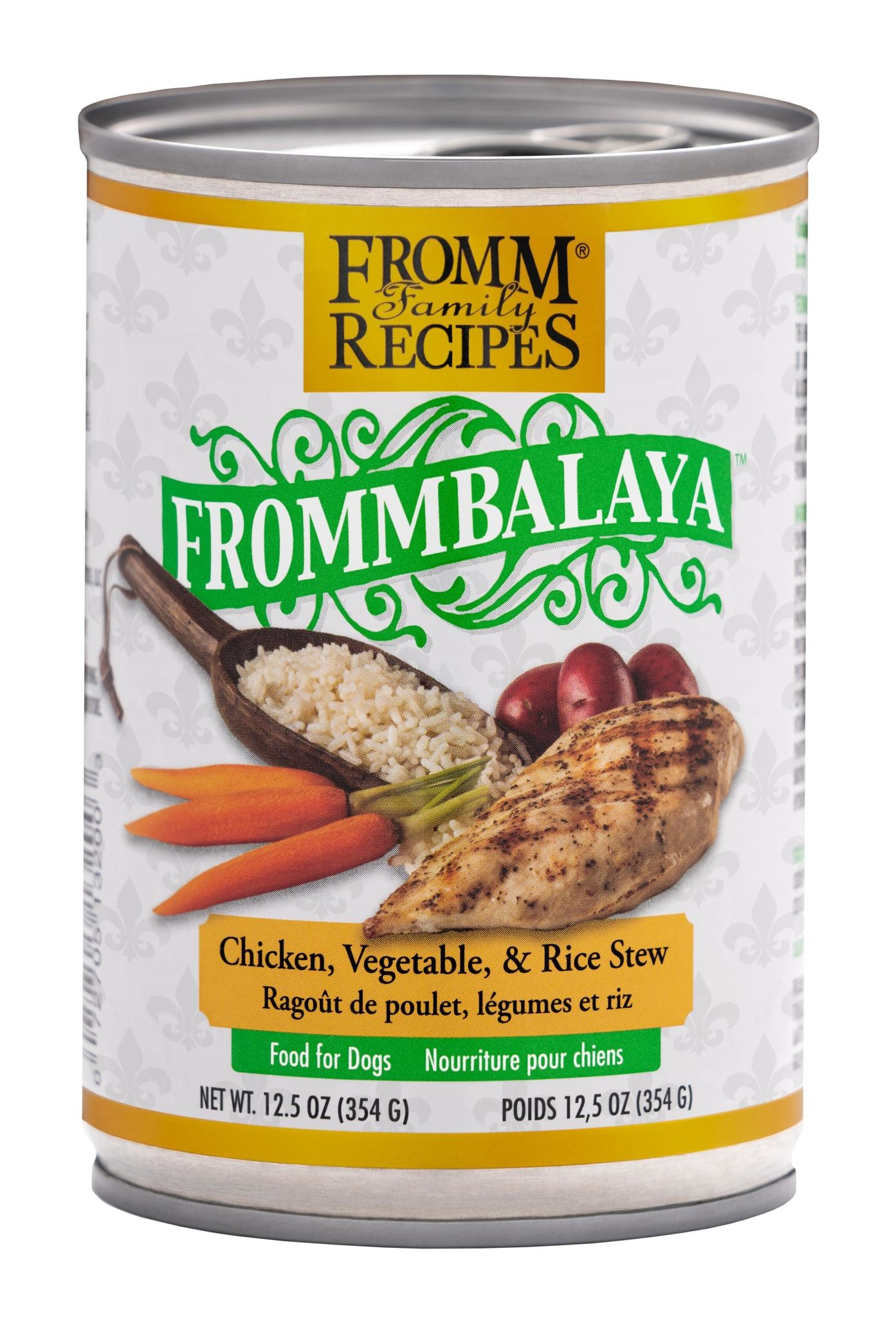 Fromm Family Foods LLC Fromm Frommbalaya Chicken & Rice Stew 12.5 oz