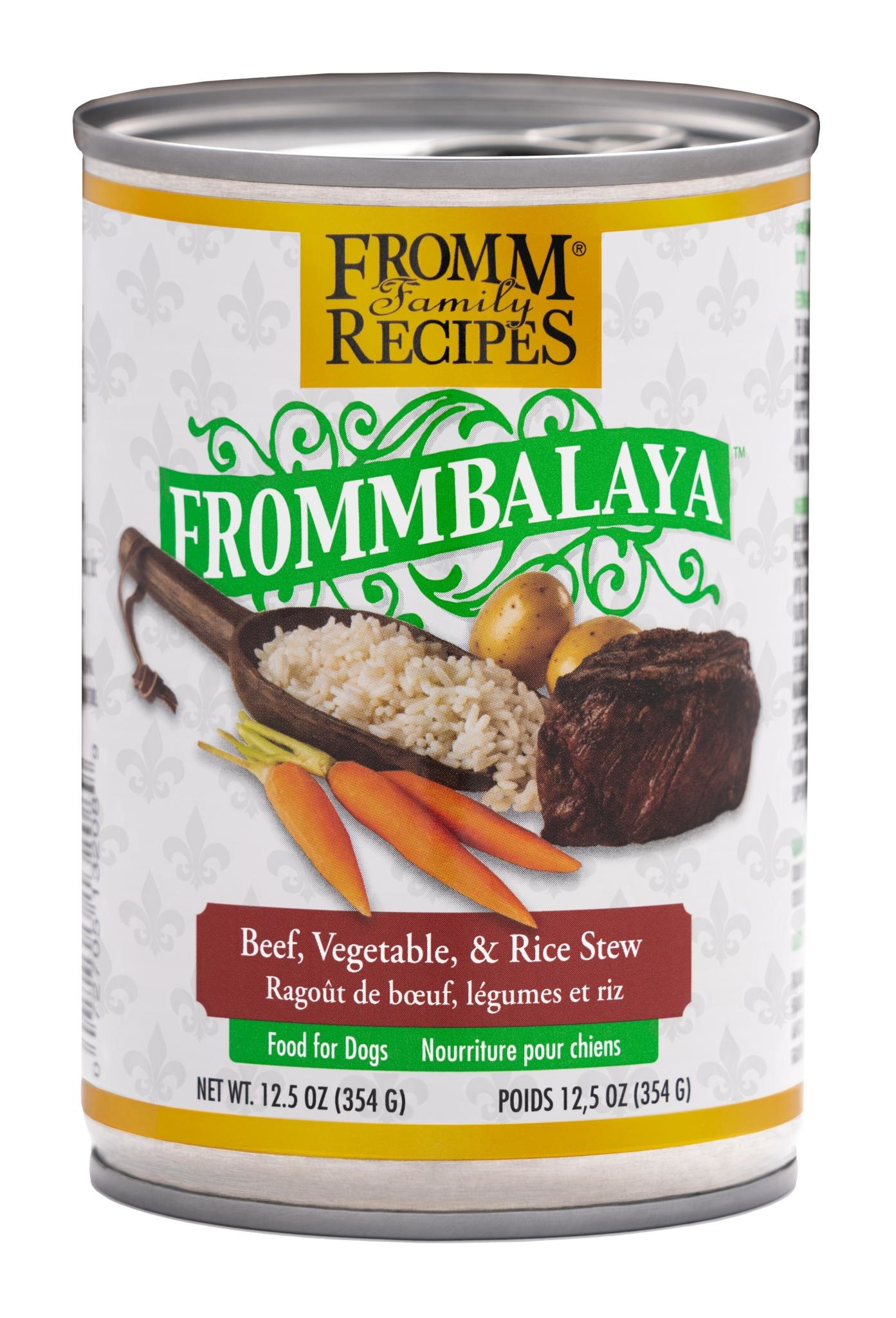 Fromm Family Foods LLC Fromm Frommbalaya Beef & Rice Stew 12.5 oz