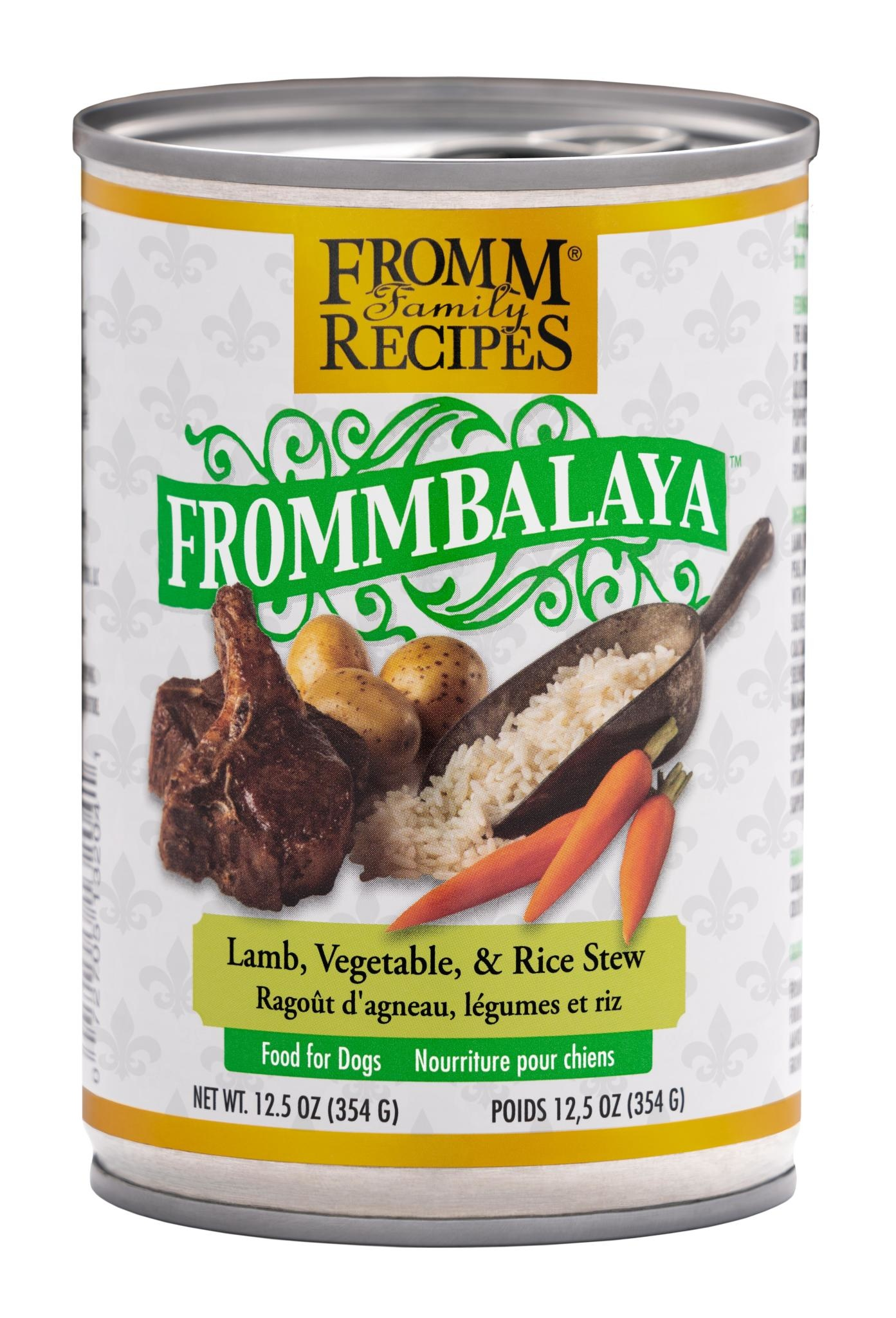 Fromm Family Foods LLC Fromm Frommbalaya Lamb & Rice Stew 12.5 oz