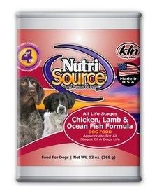 NutriSource ALS Chicken Lamb Ocean Fish 13oz