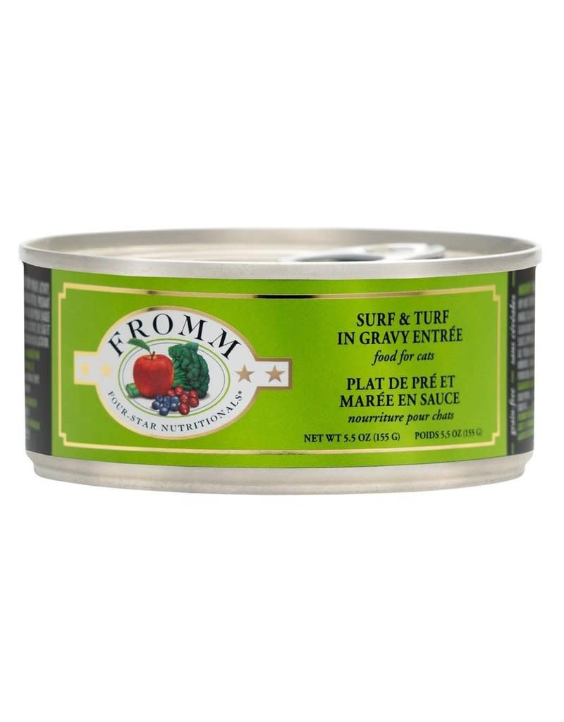 Fromm Family Foods LLC Fromm 4 Star Shredded Surf & Turf 5.5 oz
