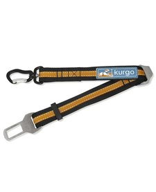 Kurgo Seatbelt Swivel Tether Black/Orange