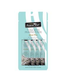 Fussie Cat Tuna & Prawns Puree 2 oz