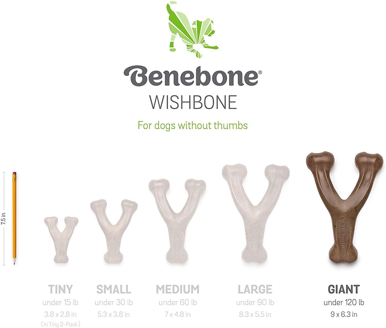 Benebone Benebone Peanut Butter Wishbone Giant