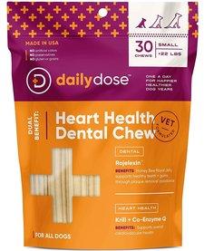 Daily Dose Heart Health Dental Chew Small 30 ct