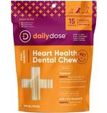 Daily Dose Daily Dose Heart Health Dental Chew Medium 15ct
