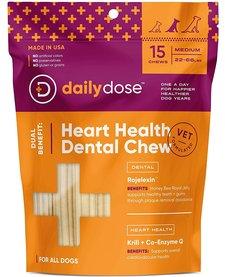 Daily Dose Heart Health Dental Chew Medium 15ct