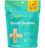 Daily Dose Daily Dose Dental Doubles Dental Chew Medium 15ct