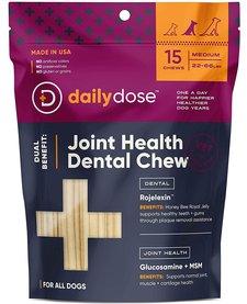 Daily Dose Joint Health Dental Chew Medium 15ct