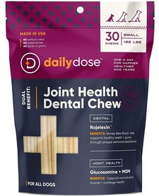 Daily Dose Joint Health Dental Chew Small 30ct