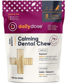 Daily Dose Calming Dental Chew Large 8ct