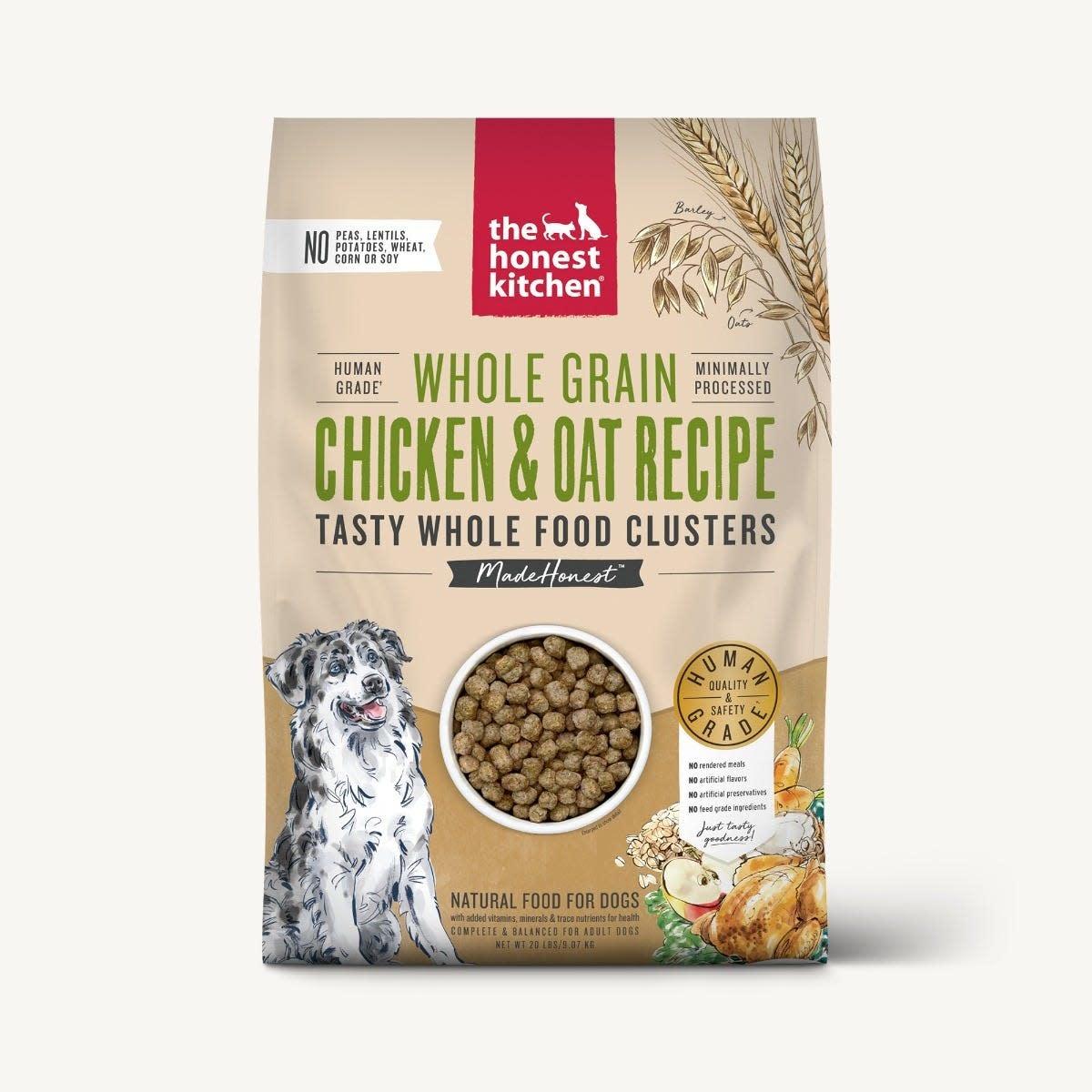 The Honest Kitchen Honest Kitchen Whole Grain Chicken Clusters 20 lb