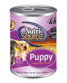 NutriSource Puppy Chicken & Rice 13 oz