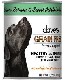 Dave's Chicken & Salmon 13.2oz
