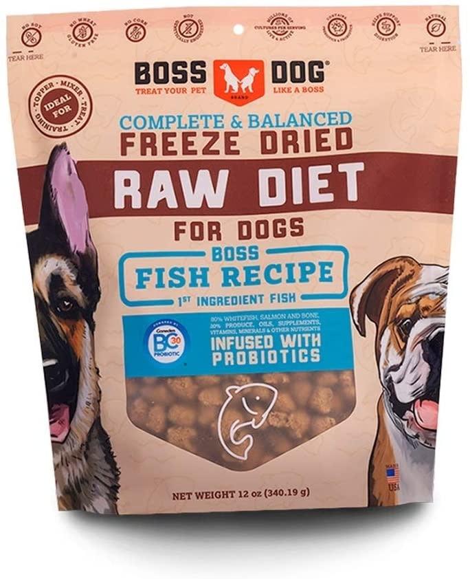 Boss Dog Boss Dog Fish Nugget 3lb