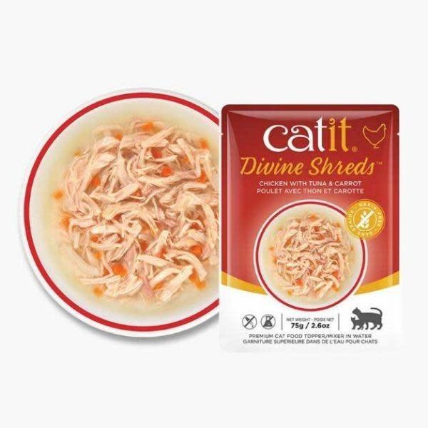 Catit Catit Divine Shreds Chicken & Tuna 2.6oz