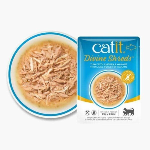 Catit Catit Divine Shreds Tuna & Chicken 2.6oz