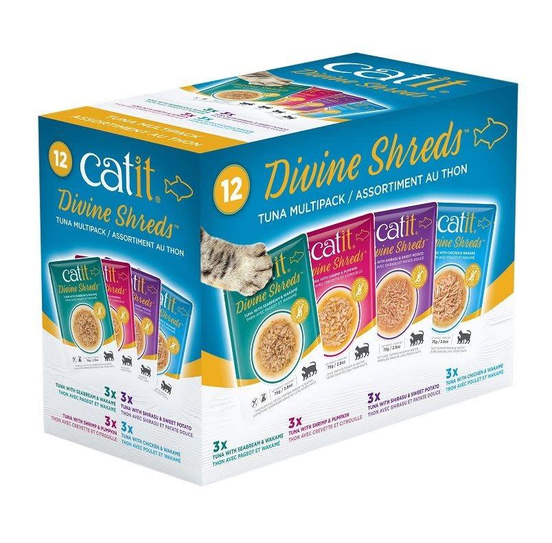 Catit Divine Shreds Tuna Variety Pack