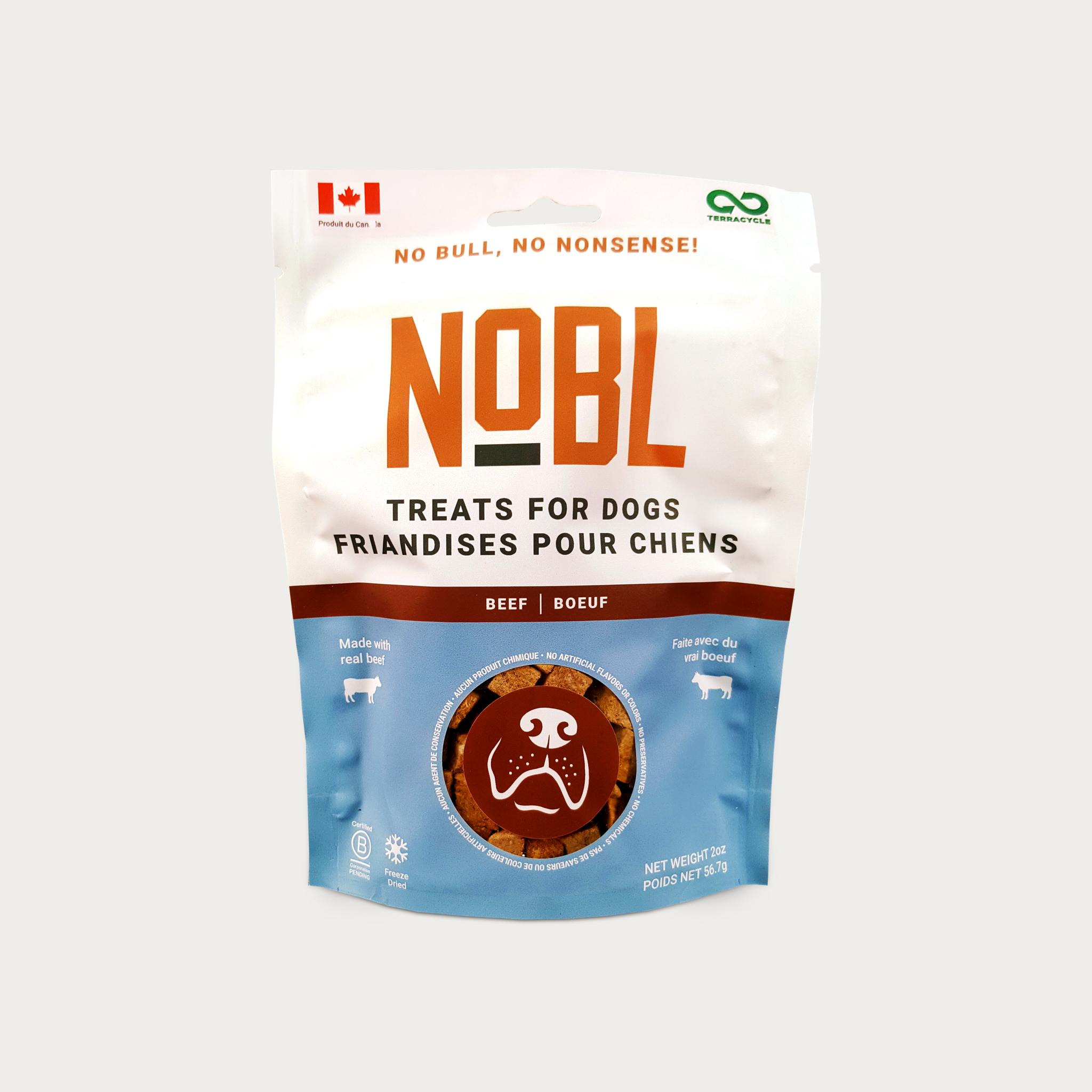 Nobl NOBL Beef Treats 2 oz