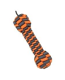 "Tall Tails Braided Bone Orange 9"""
