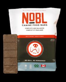 Nobl Food Bars Beef & Chicken 20 oz