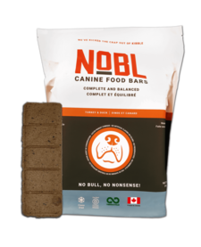 Nobl Food Bars Turkey & Duck 20 oz