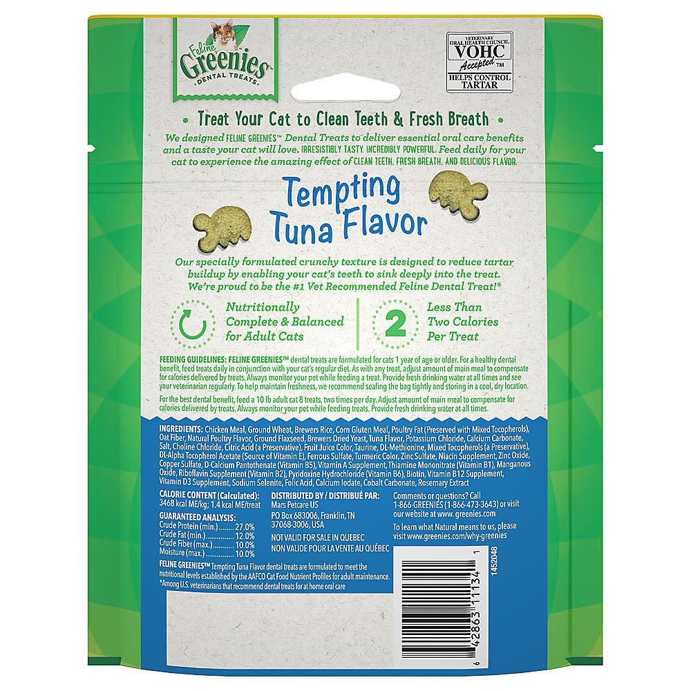 Greenies Feline Greenies Tuna 4.6 oz