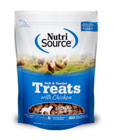 Nutrisource Soft Treats Chicken 14oz