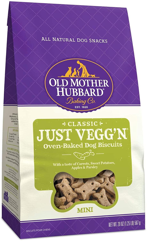 WellPet Old Mother Hubbard Just Vegg'n Mini Biscuits 20oz