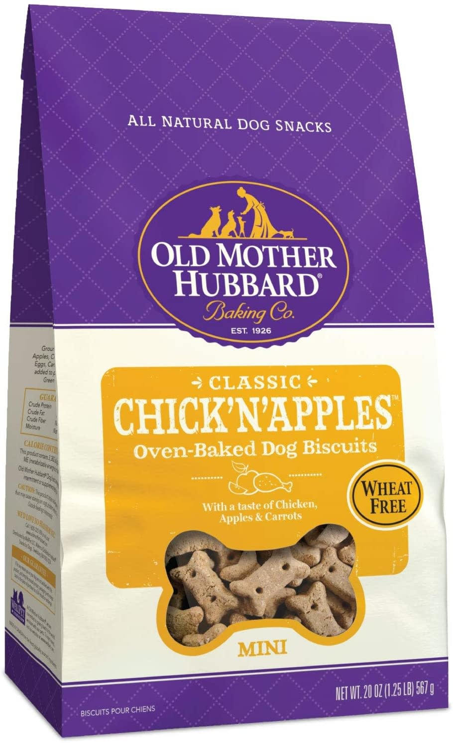 WellPet Old Mother Hubbard Chick'n'Apples Mini Biscuits 20oz