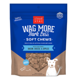 Cloud Star Wag More Bacon & Cheese Soft Chew 6oz