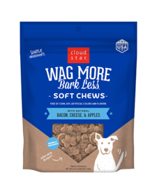 Wag More Bacon & Cheese Soft Chew 6oz