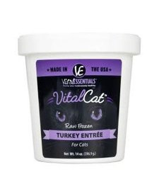Vital Essentials Cat Turkey 14 oz