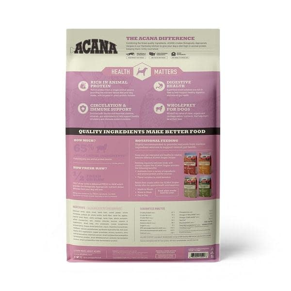 Acana (Champion) Acana Lamb and Apple 13lb