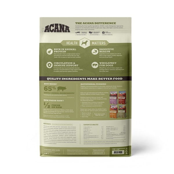 Acana (Champion) Acana Pork & Squash 13 lb