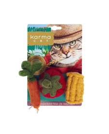 Karma Cat - Felt Veggies 3 pack