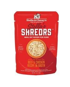 Stella's Shreds Beef & Chicken in Broth 2.8 oz