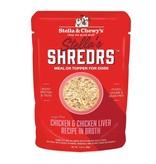 Stella & Chewy's Stella's Shreds Chicken & Liver in Broth 2.8 oz