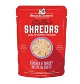 Stella & Chewy's Stella's Shreds Chicken & Turkey in Broth 2.8 oz