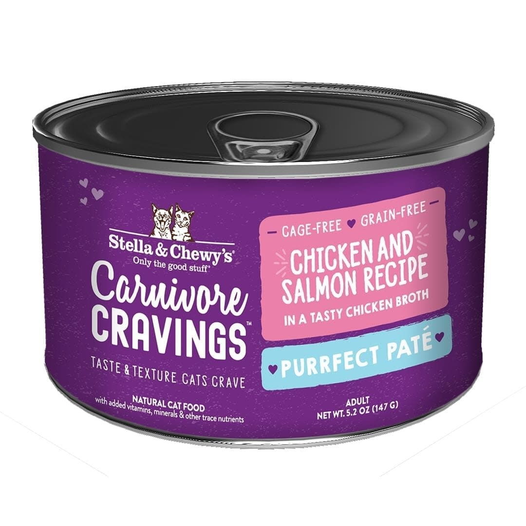 Stella & Chewy's Stella & Chewy's Carnivore Cravings Chicken & Salmon Pate 5.2 oz