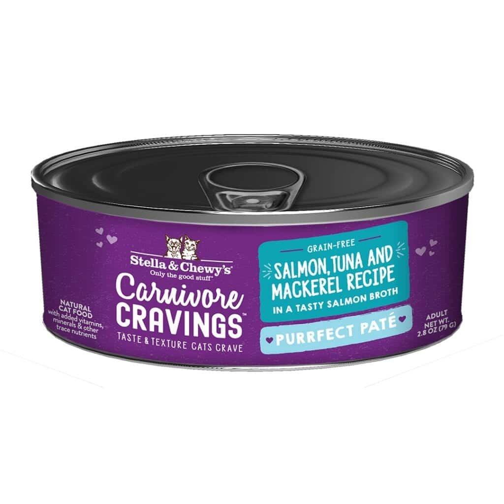 Stella & Chewy's Stella & Chewy's Carnivore Cravings Salmon, Tuna & Mackerel Pate 2.8 oz