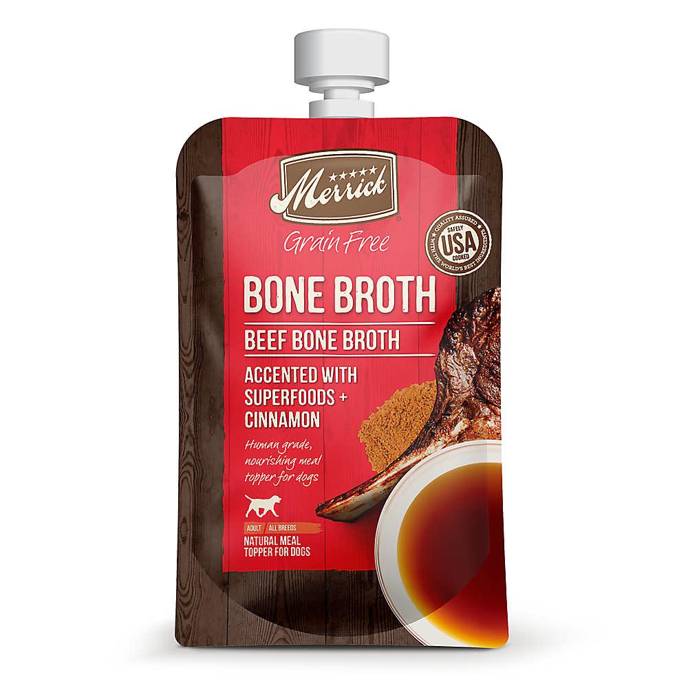 Merrick Merrick Beef Bone Broth 7 oz