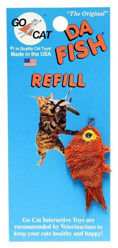 Go Cat Feather Toys Inc. Go Cat Da Fish Refill