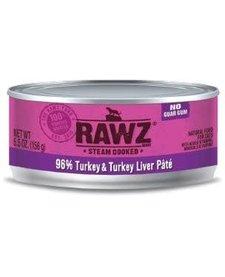 Rawz Pate 96% Turkey & Turkey Liver 3 oz