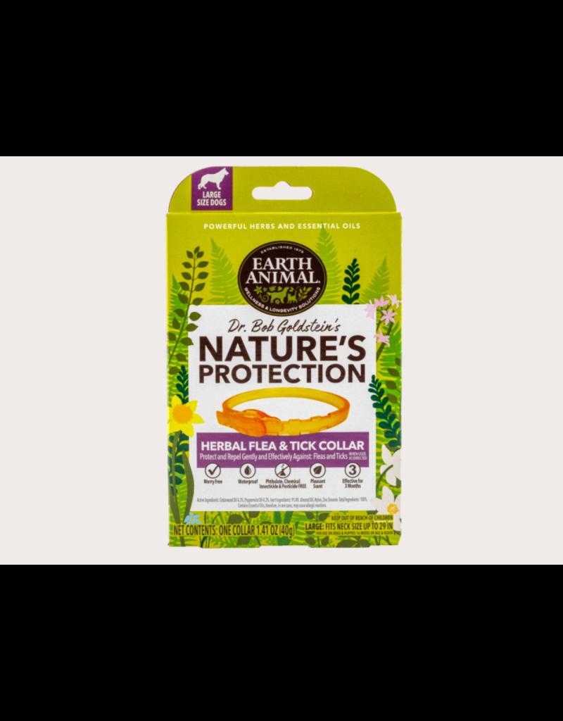 Earth Animal Earth Animal Nature's Protection Herbal Flea Collar LG