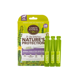 Earth Animal Nature's Protection Herbal Spot On 3 pk SM