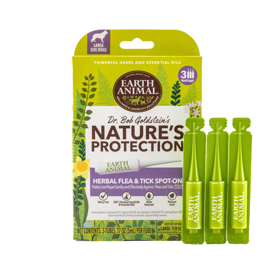 Earth Animal Earth Animal Nature's Protection Herbal Spot On 3 pk MD